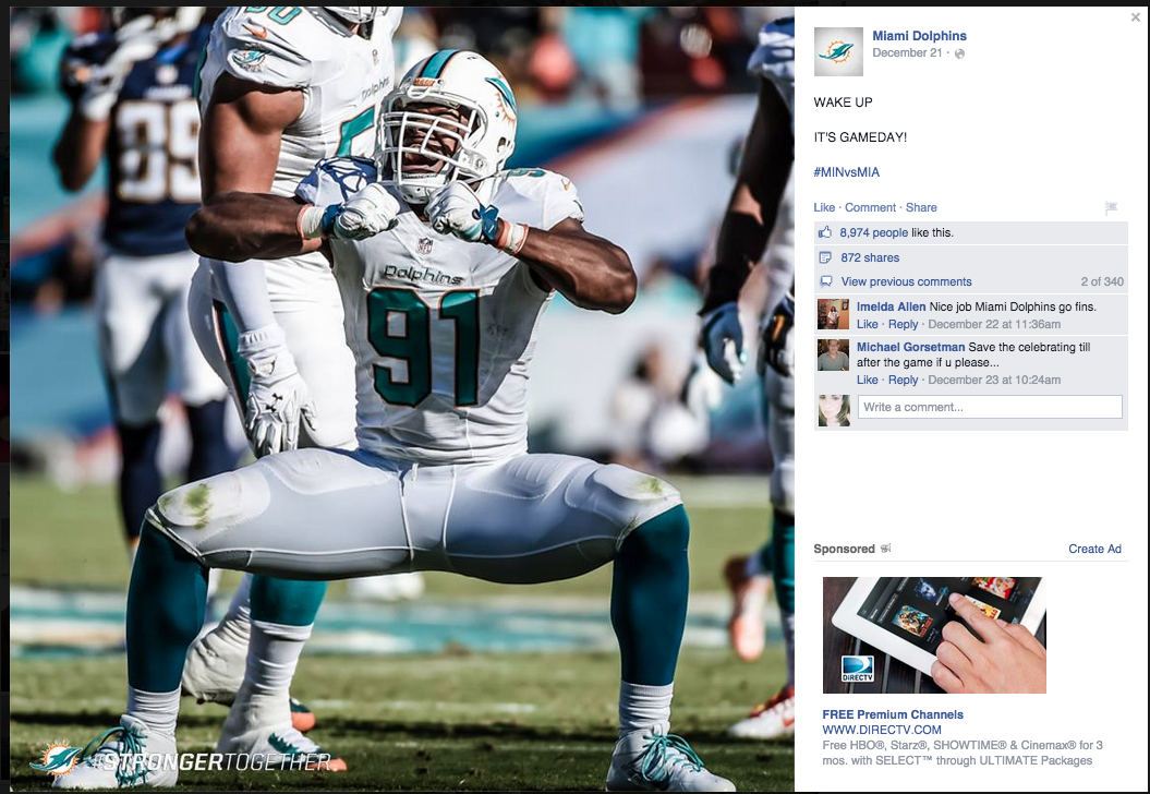 Q&A With the Miami Dolphins Social Media Manager - Social 'n